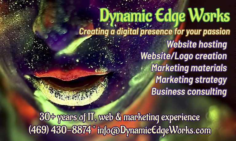 Dynamic Edge Works - creating a digital presence for your passion